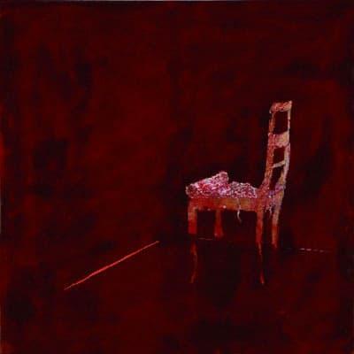 Plsterstuhl, 2006, Tempera auf Leinwand, 200 x 200 cm