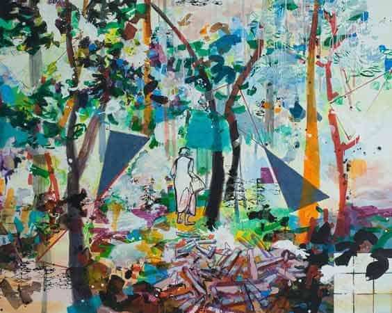 Malerei von josephine Behlke, Kleine-Schritte