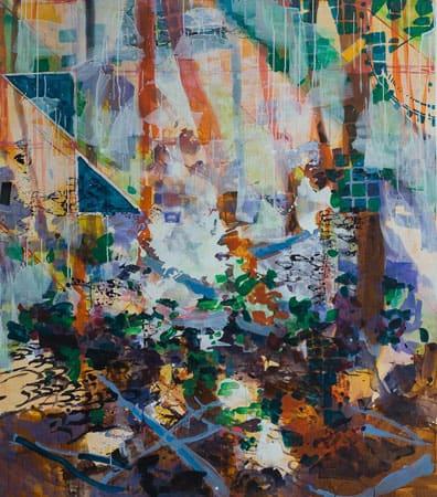Malerei von josephine Behlke, Nichts-ist-nicht-Nichts