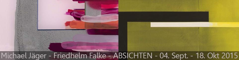 Friedhelm Falke und Michael Jäger – ABSICHTEN