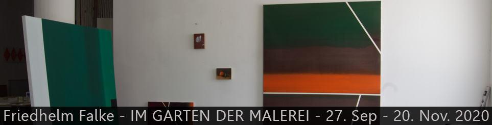 Friedhelm Falke – IM GARTEN DER MALEREI